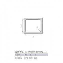 Évier TOPAZE 450X548