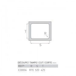 Évier TOPAZE 450X540