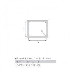 Évier TOPAZE 400X500