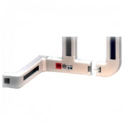 Goulotte électrique PVC Inway 100x54