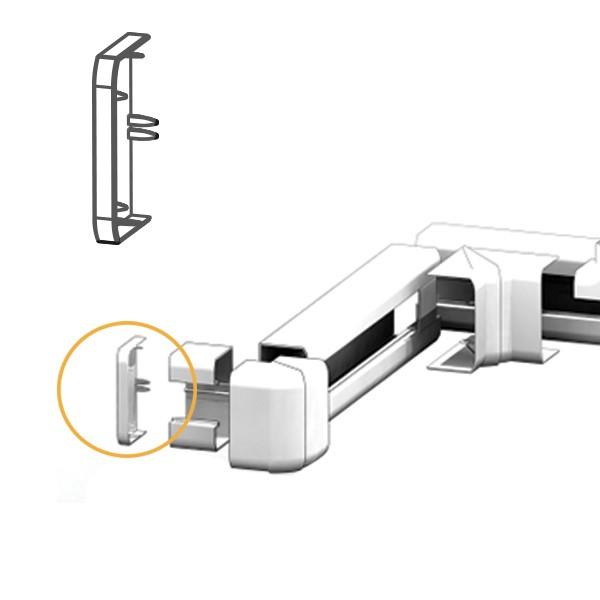 Embout goulotte électrique PVC 100x54