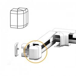 Angle Extérieur goulotte électrique PVC 100x54