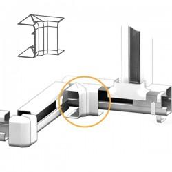 Angle Intérieur goulotte électrique PVC 100x54