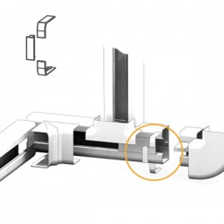 Joint de Couvercle goulotte électrique PVC 100x54