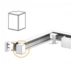 Angle Extérieur goulotte électrique PVC 80x40