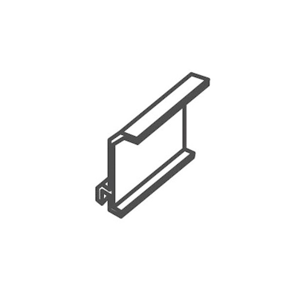 Séparateur goulotte électrique PVC 80x40