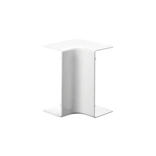 Angle intérieur goulotte électrique PVC 20x10
