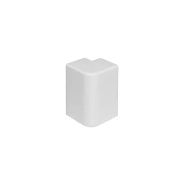 Angle extérieur goulotte électrique PVC 20x10