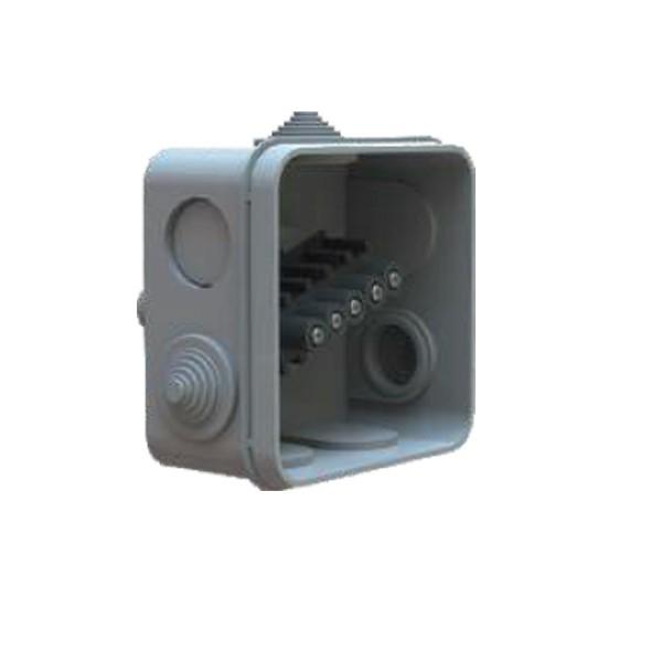Boîte dérivation étanche embout gradin Serie 200 (80x80x50) 750°
