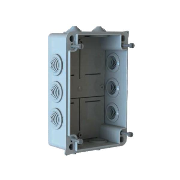 Boîte dérivation étanche embout gradin Serie 200 (175x110x66) 750°