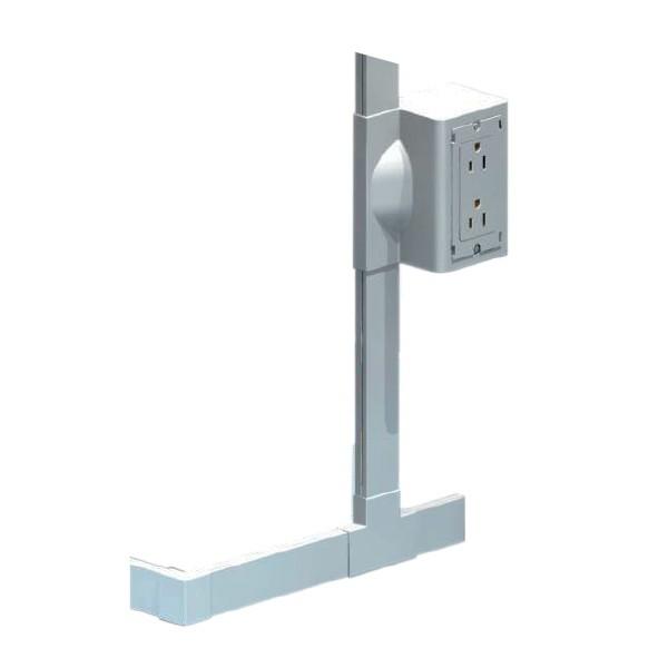 Goulotte électrique PVC Inway 30x10