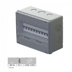 Coffret de distribution étanche PG 109x232x182