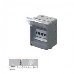 Coffret de distribution étanche METRIC 95x162x122