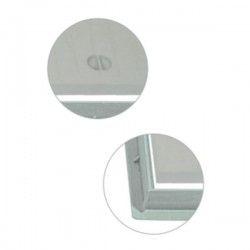 Couvercle + cadre Xtrela en polypropylène 20x20 cm
