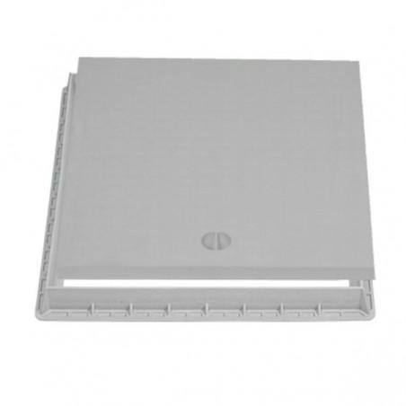 Couvercle + cadre Xtrela en polypropylène 30x30 cm