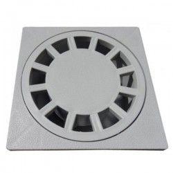 Siphon de cour en polypropylène (PP) 10x10 cm