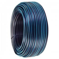 Tuyau Polyéthylène PEHD bande bleue Ø 75 mm 10 kg / bars - L.100m