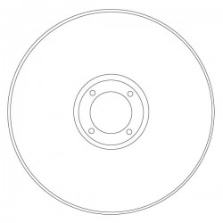 Disque coupe inox Ø 115
