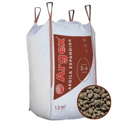 Granulats billes d'argile expansée 4 - 8 mm big-bag 3 m3