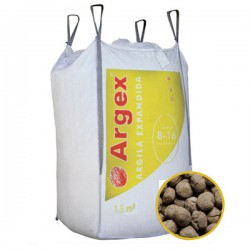 Granulats billes d'argile expansée 8 - 16 mm big-bag 3 m3